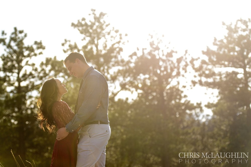 Lookout Mountain Engagement Photo
