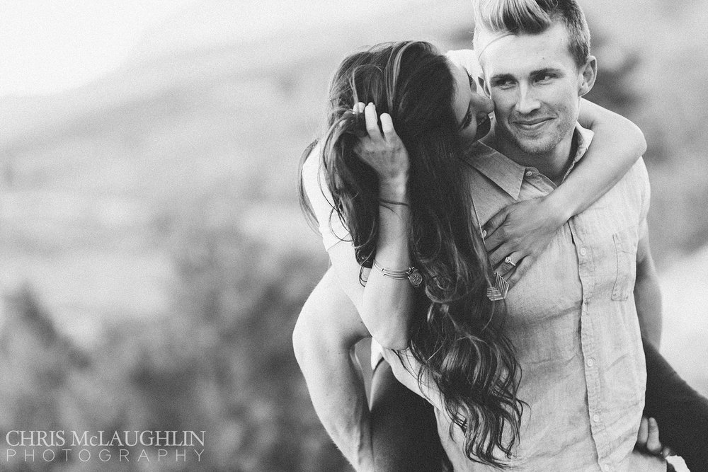 Red Rocks Country Club Engagement Picture
